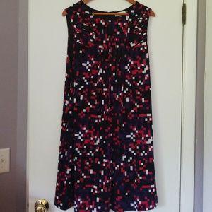 Calvin Klein Swing Sleeveless Dress Plus Suze EUC